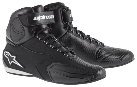 moto shoes alpinestars faster shoes revzilla