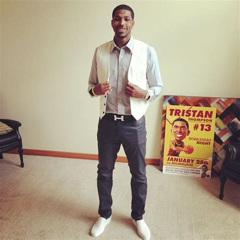 NBA Style: Tristan Thompson's Hermes 'H' Belt & Christian Louboutin 'Roller boat' Sneakers
