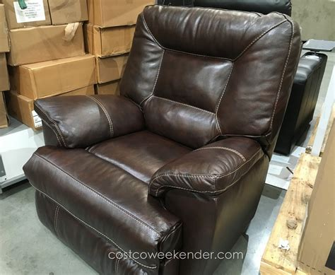 costco recliners berkline leather rocker recliner chair costco weekender