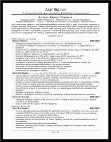 Sample Resume Manager property manager resume samples manager resume examples property