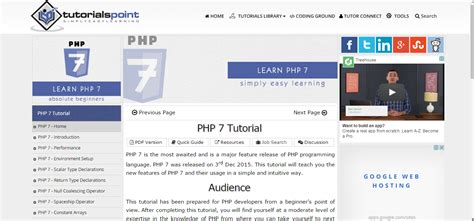 tutorial php 7 resources for learning php 7 dzone web dev
