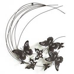 d 233 coration murale en fer 77cm papillons d 233 coration