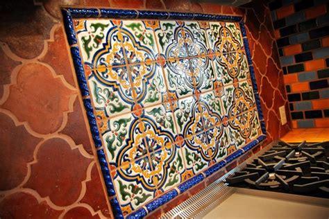 Saltillo Tile Countertop Decorative mexican tile mediterranean kitchen austin by clay