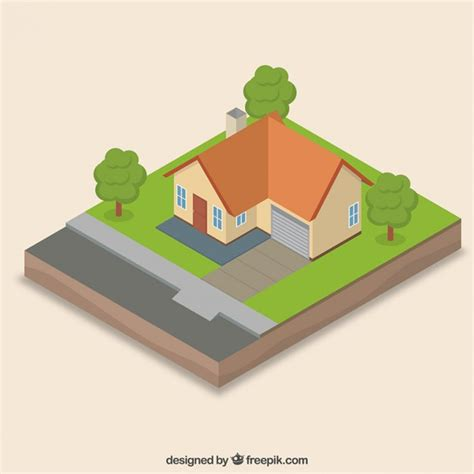 Home Design Unlimited Coins Realistic Isometric House Vector Free Download