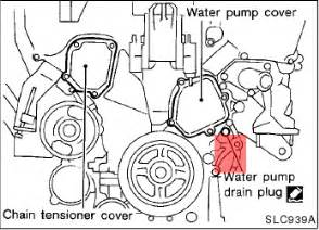 2000 Nissan Maxima Water 2004 Nissan Maxima Water Replace Autos Post