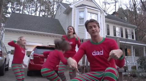 christmas jammies rockets holderness family to viral family creates cute xmas jammies video hlntv com