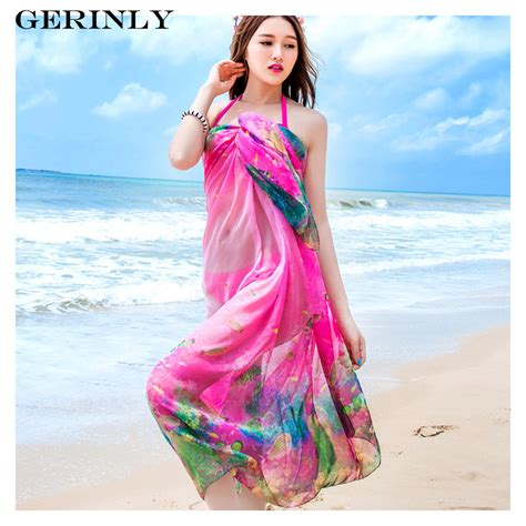 Pasrio Dress gerinly 180x150cm sarongs scarves summer pareo