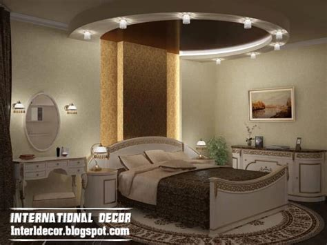 Bedroom Roof Ceiling Designs Contemporary Bedroom Designs Ideas With False Ceiling And Decorations