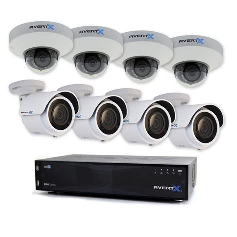 ip surveillance system avertx pro 16 channel hd ip surveillance system with 8tb