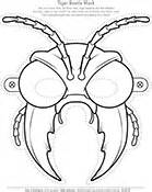 bug masks for templates biology coloring pages worksheets asu ask a biologist