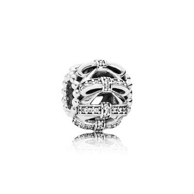 Pandora Robin With And Clear Cz Charm P 766 shimmering sentiments charm clear cz 791779cz charms pandora