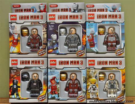 Lego Bootleg Ironman Minifigure 03 my brick store lego ironman with light up arc reactor
