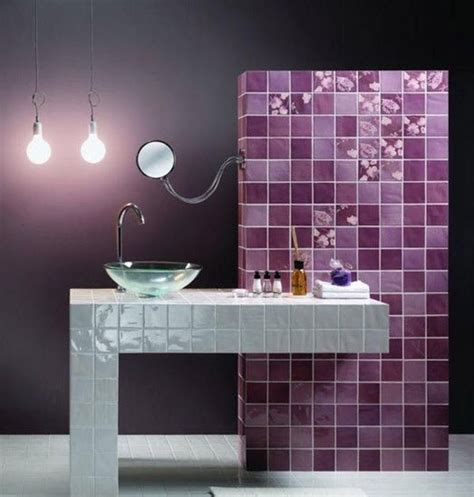 Badezimmer Fliesen Lila by 36 Purple Bathroom Wall Tiles Ideas And Pictures