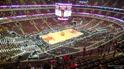 united center section 321 chicago bulls rateyourseats