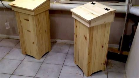 wooden trash can wooden trash can preview youtube