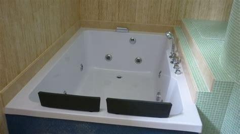 vasche da bagno doppie vasca idromassaggio 185x120cm cromoterapia per 2 persone pr