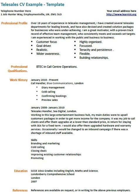 Telesales Manager Cover Letter by Cover Letter Telesales
