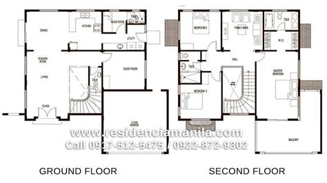 house design with floor plan in philippines house floor plan philippines bungalow house design plans