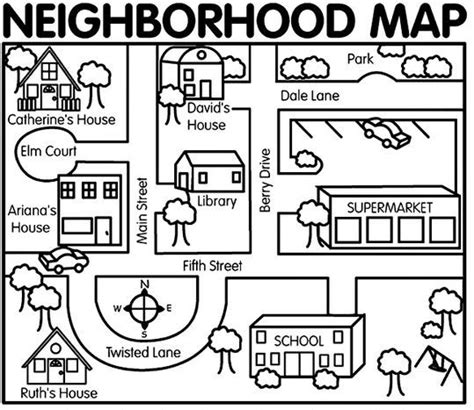 biscuit s neighborhood 5 filled stories in 1 box my i can read books best 25 map activities ideas on geography map