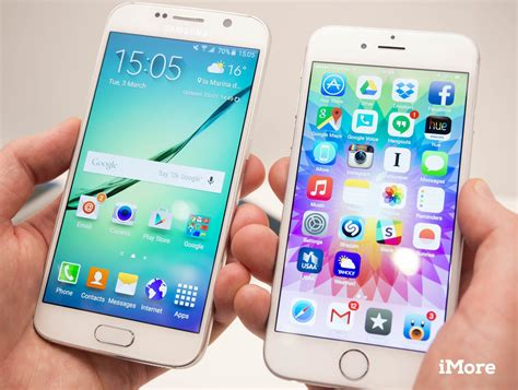 Iphone V Galaxy by Iphone 6 Versus Galaxy S6 Glance Similarities Aren T A Bad Thing Imore