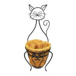 Planter Liner Home Depot by Patio Garden Companions Cat Planter With Coco Liner