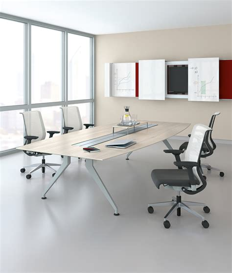 Steelcase Meeting Tables 4 8 Four Point Eight Cable Management From Steelcase Architonic