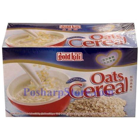 Instant Cereal Flavour gold kili instant oats cereal with original flavor 9 9 oz