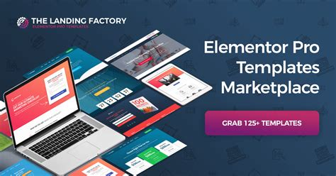 Elementor Pro Templates Marketplace The Landing Factory Elementor Pro Templates