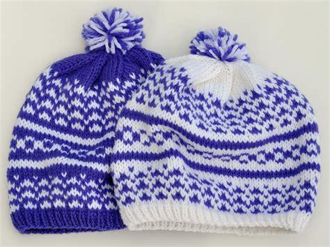 fair isle knitting free patterns knitting by the vermont hat a fair isle adventure