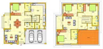 7 denah rumah minimalis 1 lantai dan 2 lantai 3d 2 3 4 kamar model denah rumah dan desain