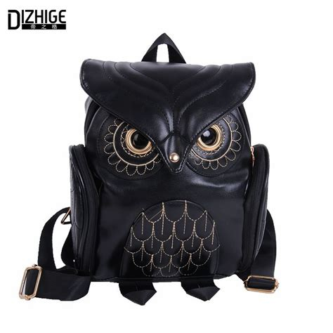 owl accessories fashion cute owl backpack for women women s accessories