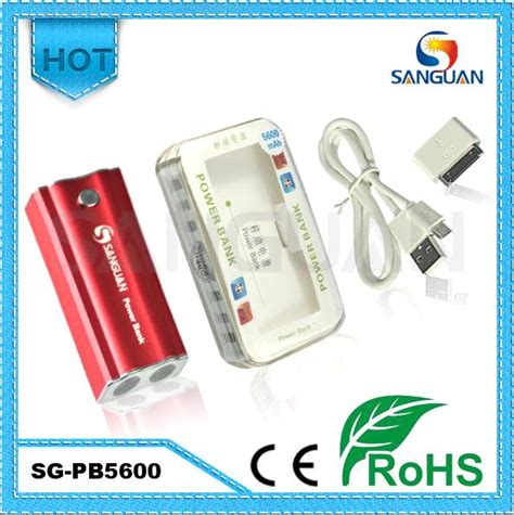 Quality Powervank Standing 5600mah sanguan high quality rohs certificated power bank 5600mah purchasing souring ecvv