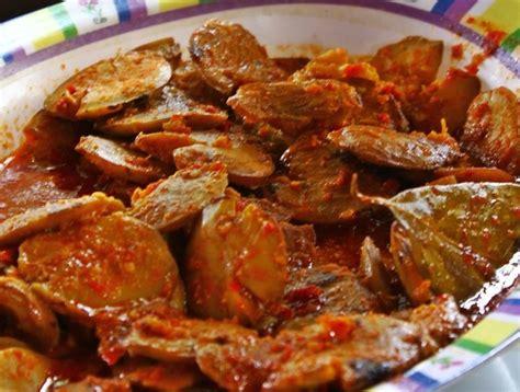 Rendang Kering Rendang Kaleyo Rendang Daging Khas Minang resep rendang jengkol minang kering pedas tidak bau makanajib