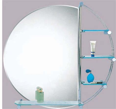 Wall Bathroom Mirror Mirrors With Without Shelf Shelves Mirror Shelves Bathroom