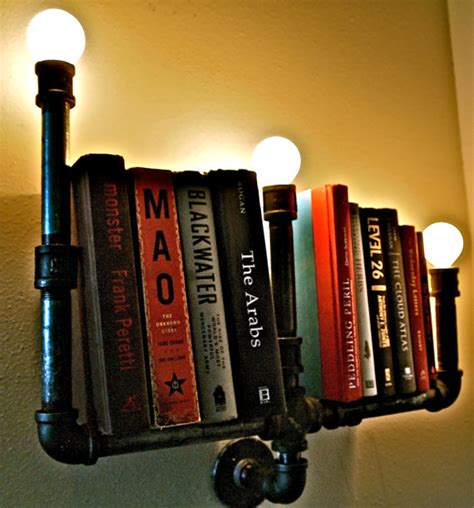 plumbing pipe bookshelves brilliant pipe idea stella bleu designs c o etsy