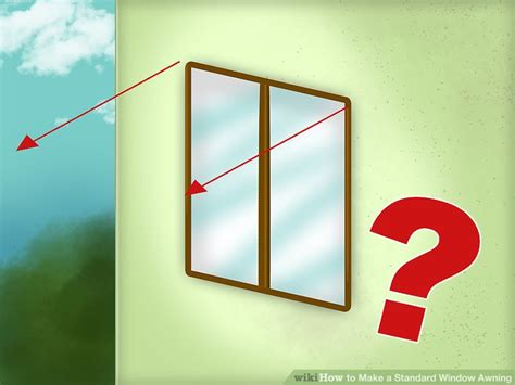 how to build a window awning how to make a standard window awning 5 steps with pictures