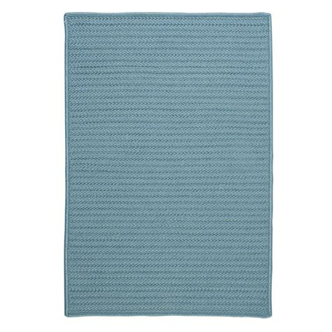 Indoor Outdoor Rugs Home Depot Home Decorators Collection Solid Federal Blue 6 Ft X 6 Ft Indoor Outdoor Braided Area Rug