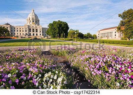 Garden State Capital Stock Photography Of Minnesota Capital Garden Minnesota