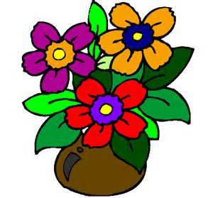 dessin de vase de fleurs colorie par membre non inscrit le