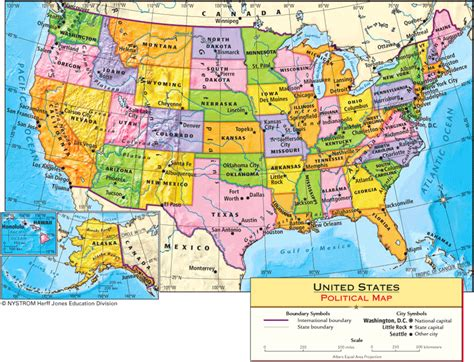 map of states in usa and canada map of us and canada border