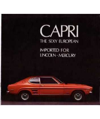 book repair manual 1992 mercury capri on board diagnostic system 1971 mercury capri sales brochure
