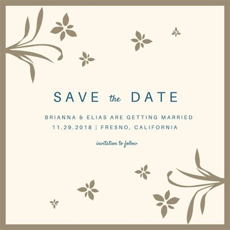 save the date invitation templates canva