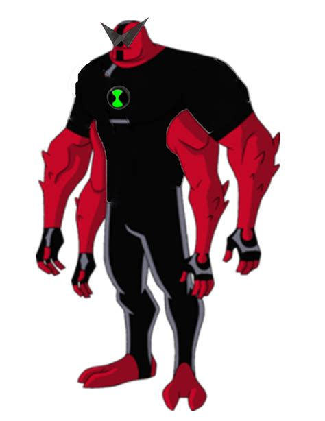 ben 10 four arms stands tall and proud coloring page sea four arms ben 10 reboot anime verse wikia fandom