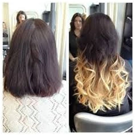 glue in hair extensions before and after photos 1000 ideas about glue in hair extensions on pinterest