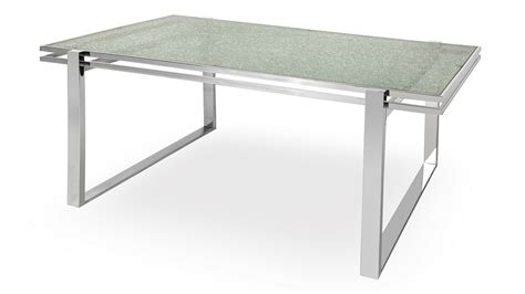 cracked glass dining table mosaic dining table cracked glass top stainless steel bas