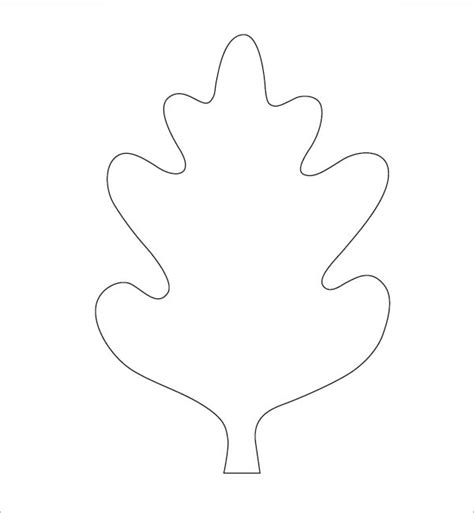 leaf template 7 free pdf download sle templates