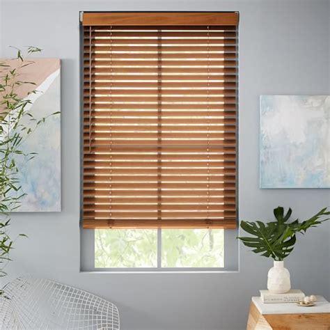 West Elm Blinds special order bali 174 wood blinds large 56 quot 72 quot wide