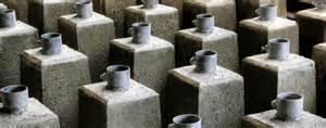 betonfertigteile garten fundamente fertigfundamente aus beton m 246 nninghoff
