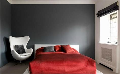 red and gray bedroom ideas comfortable family home of 1930 s remodeled and extended