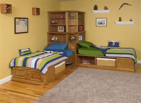 corner twin beds with storage corner cubby bed available in maple or oak twin size